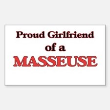 Proud Girlfriend of a Masseuse Decal
