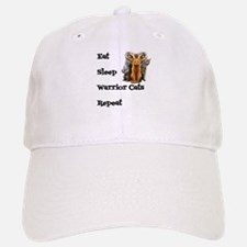 Eat Sleep Warrior Cats Repeat Baseball Baseball Cap