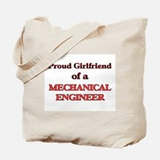 Proud Girlfriend of a Mechanical Engineer Tote Bag