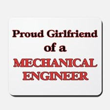 Proud Girlfriend of a Mechanical Enginee Mousepad