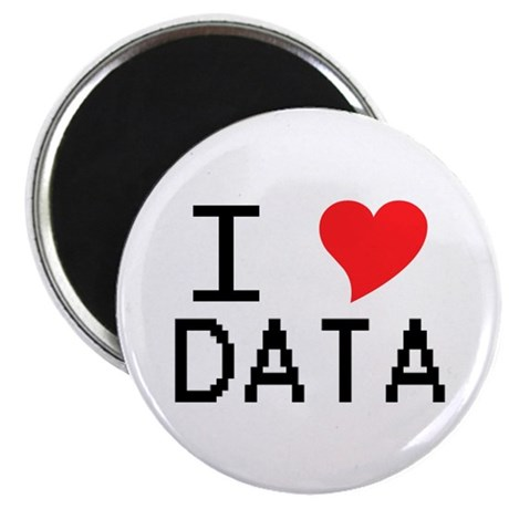I Heart Data Magnet
