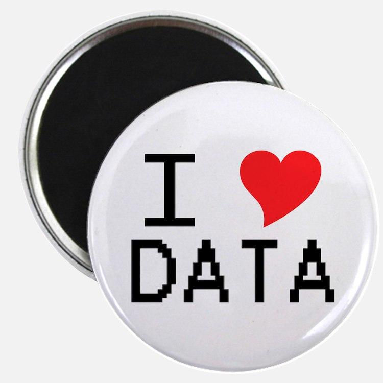 I Heart Data Magnet