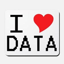 I Heart Data Mousepad