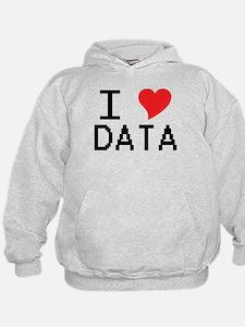 I Heart Data Hoodie