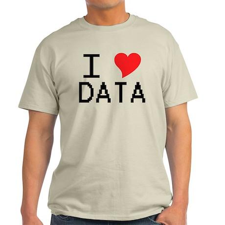 I Heart Data Light T-Shirt