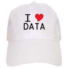 I Heart Data Baseball Cap