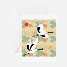 Cute Cranes Greeting Cards (Pk of 20)