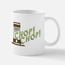 Guillotine Chop Mugs