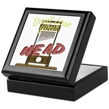 Lose Your Head Keepsake Box