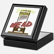 Lose Your Head Keepsake Box