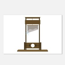Guillotine Postcards (Package of 8)