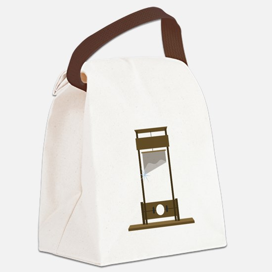 Guillotine Canvas Lunch Bag