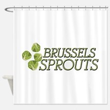 Brussels Sprouts Shower Curtain