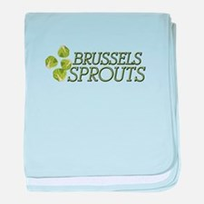 Brussels Sprouts baby blanket