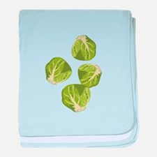 Brussel Sprouts baby blanket