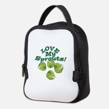 Love My Sprouts Neoprene Lunch Bag