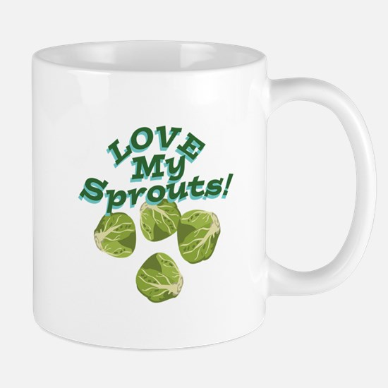 Love My Sprouts Mugs