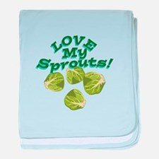Love My Sprouts baby blanket