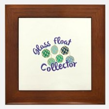 Glass Float Collector Framed Tile