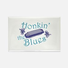 Honkin The Blues Magnets