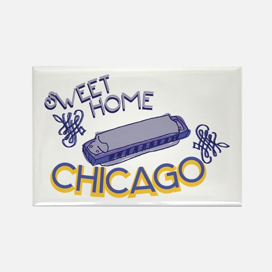 Sweet Home Chicago Magnets