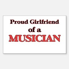 Proud Girlfriend of a Musician Decal