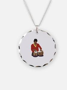 Indian Tabla Necklace