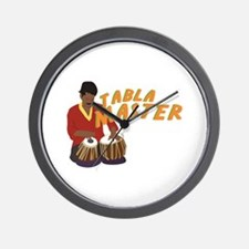 Tabla Master Wall Clock
