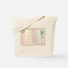 Vintage Map of Wyoming (1874) Tote Bag