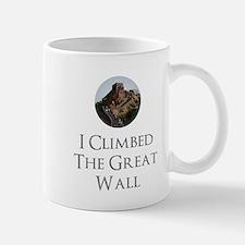 I Climbed The Great Wall Mug