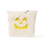 Happy Pumpkin Face Tote Bag