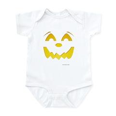 Happy Pumpkin Face Infant Bodysuit