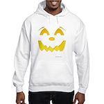 Happy Pumpkin Face Hooded Sweatshirt