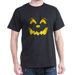 Happy Pumpkin Face Dark T-Shirt