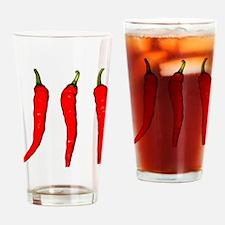 Cute Cayenne Drinking Glass