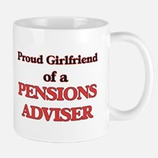 Proud Girlfriend of a Pensions Adviser Mugs