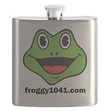 FROGGY 104 Flask
