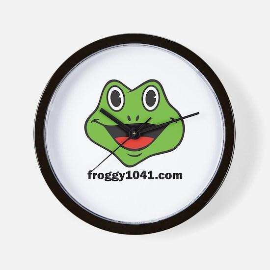 FROGGY 104 Wall Clock