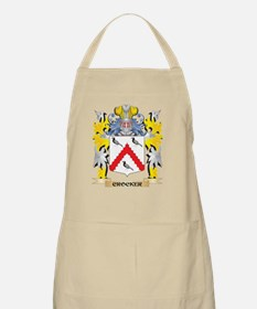Crocker Coat of Arms - Family Crest Light Apron