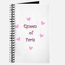 Queen of Hearts Queen of Farts Journal