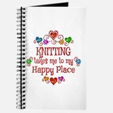 Knitting Happy Place Journal