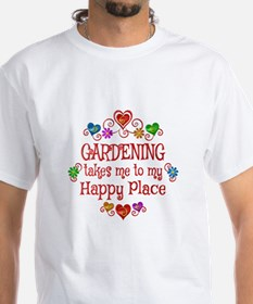 Gardening Happy Place Shirt