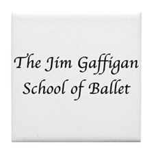 JG SCHOOL OF BALLET Tile Coaster