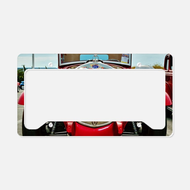 Cute Hot rods License Plate Holder
