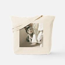 Peek A Boo Bud Tote Bag
