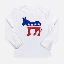 Unique Democrat donkey Long Sleeve Infant T-Shirt