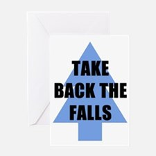 Take Back the Falls Greeting Cards