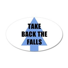 Take Back the Falls Wall Decal