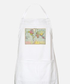 Vintage Political Map of The World (1922) Apron