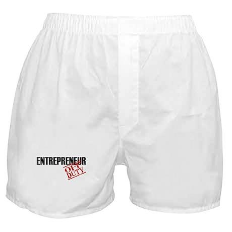 Off Duty Entrepreneur Boxer Shorts